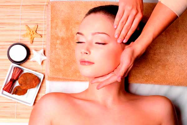 Виды косметического массажа