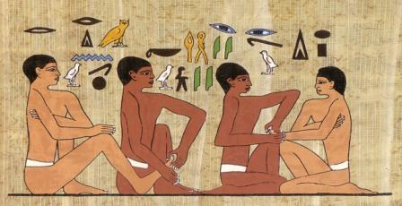 История развития массажа