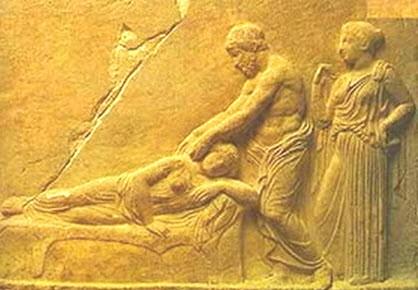 Массаж в Греции и Риме