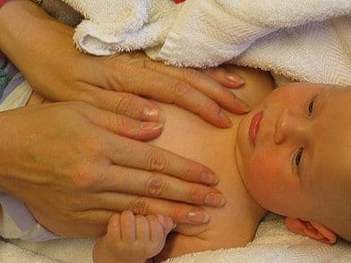 Массаж и гимнастика детей 3-4 месяцев