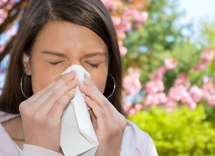 Массаж точек при аллергии
