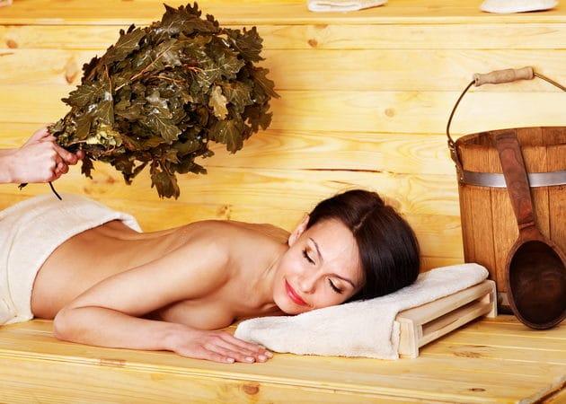 Методика массажа в бане