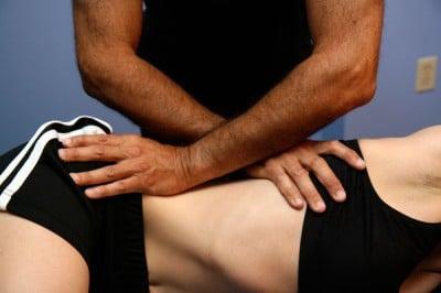 Согревающий массаж