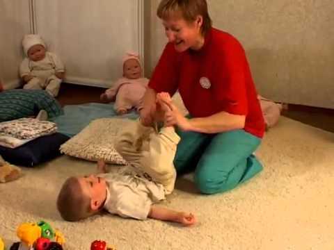 Детский массаж 1, 2, 3 года видео
