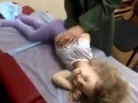 Детский массаж при бронхите видео