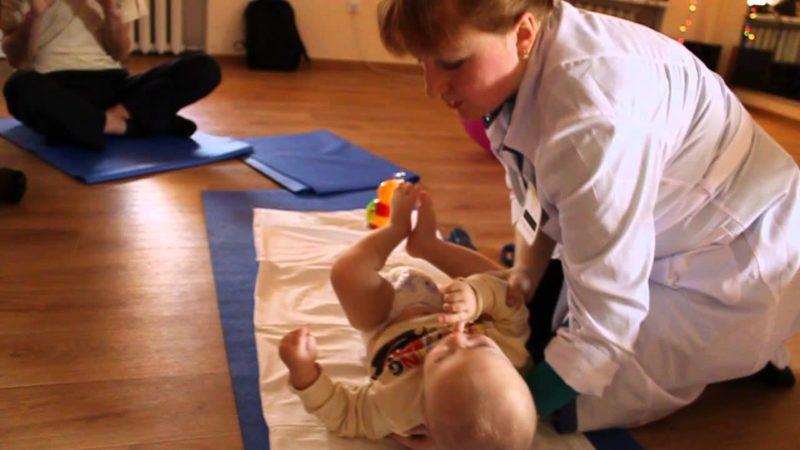 Детский массаж при кривошее видео