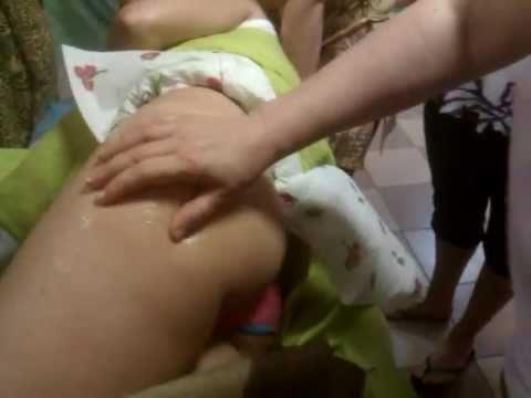 Антицеллюлитный массаж ягодиц видео