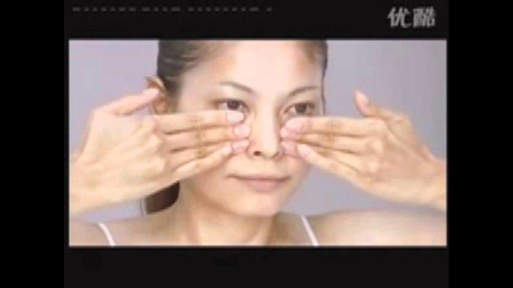 Японский массаж лица асахи видео