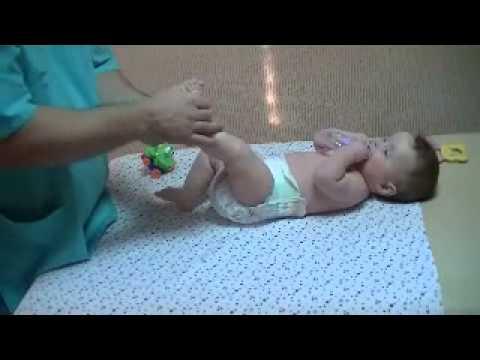 Детский массаж 6 месяцев видео