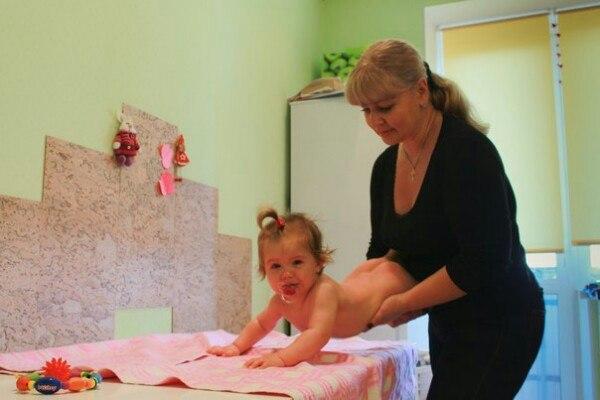 Детский массажист Анна Авитисова