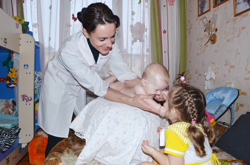 Детский массажист Оксана Заседателева