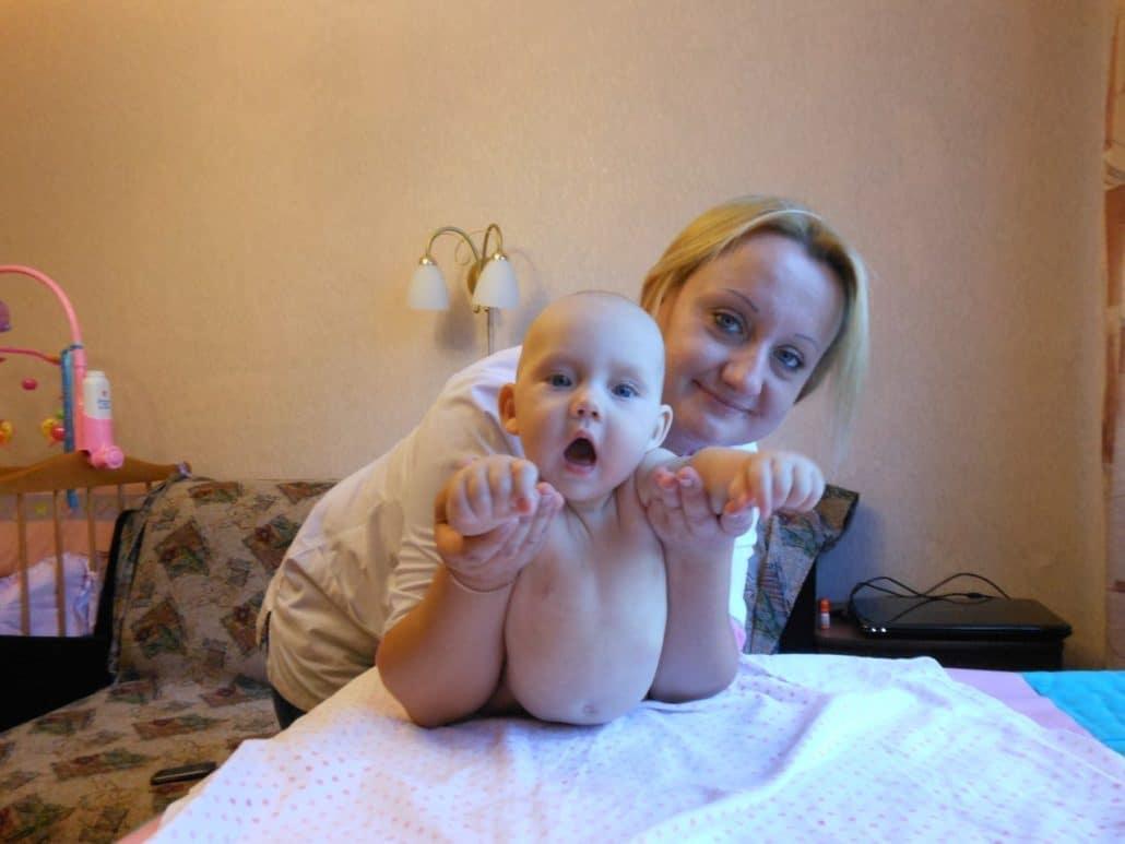Детский массажист Ольга Рубан