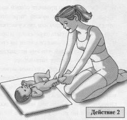 Детский массаж ног и стоп у младенцев. 502
