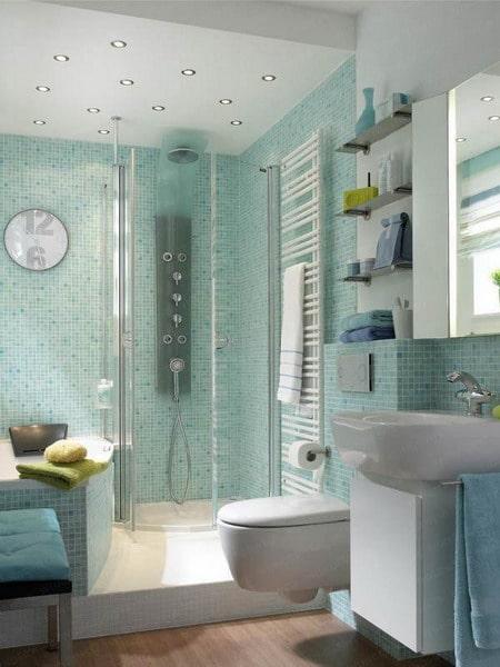 Ванная комната массажиста. Массаж на дому СПб