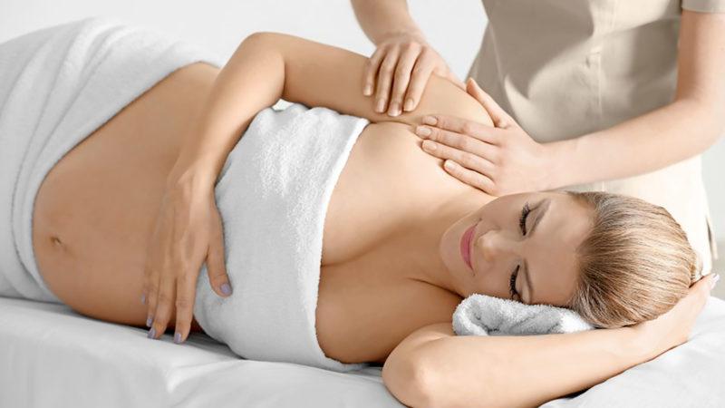 Как проходит массаж для беременных на дому?