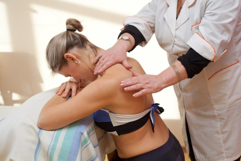 Особенности массажа после травм
